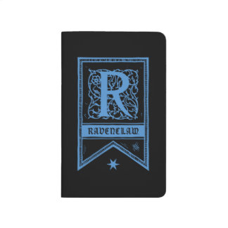 Harry Potter | Ravenclaw Monogram Banner Journals
