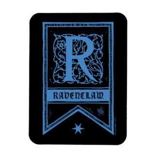 Harry Potter | Ravenclaw Monogram Banner Magnet