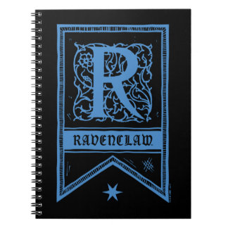 Harry Potter | Ravenclaw Monogram Banner Notebook