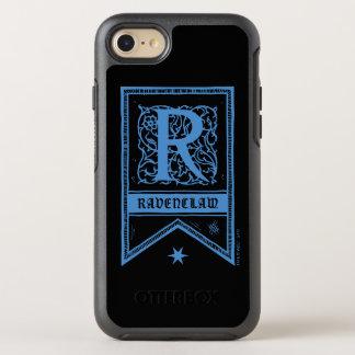 Harry Potter | Ravenclaw Monogram Banner OtterBox Symmetry iPhone 8/7 Case