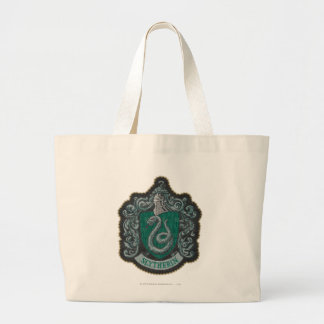 Harry Potter | Retro Mighty Slytherin Crest Large Tote Bag