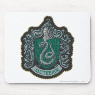 Harry Potter | Retro Mighty Slytherin Crest Mouse Mat
