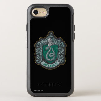 Harry Potter | Retro Mighty Slytherin Crest OtterBox Symmetry iPhone 8/7 Case