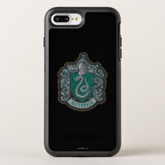 Harry Potter | Retro Mighty Slytherin Crest OtterBox Symmetry iPhone 8 Plus/7 Plus Case