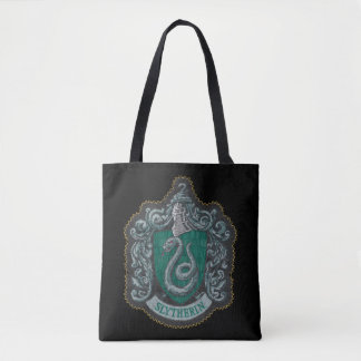Harry Potter | Retro Mighty Slytherin Crest Tote Bag