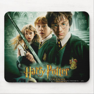 Harry Potter Ron Hermione Dobby Group Shot Mouse Mat