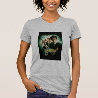 Harry Potter Ron Hermione Dobby Group Shot T-Shirt