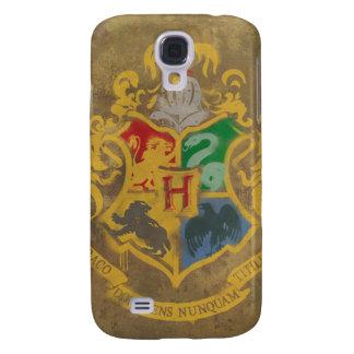 Harry Potter | Rustic Hogwarts Crest Galaxy S4 Case