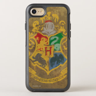 Harry Potter | Rustic Hogwarts Crest OtterBox Symmetry iPhone 8/7 Case