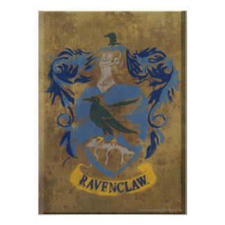 Harry Potter | Rustic Ravenclaw Painting Poster