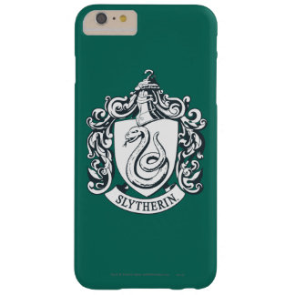 Harry Potter | Slytherin Crest - Black and White Barely There iPhone 6 Plus Case