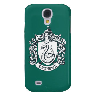 Harry Potter | Slytherin Crest - Black and White Galaxy S4 Case