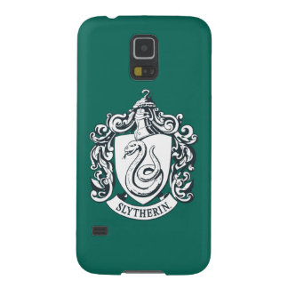 Harry Potter | Slytherin Crest - Black and White Galaxy S5 Case