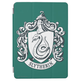 Harry Potter | Slytherin Crest - Black and White iPad Air Cover