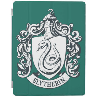 Harry Potter | Slytherin Crest - Black and White iPad Cover