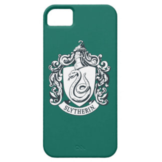 Harry Potter | Slytherin Crest - Black and White iPhone 5 Cases