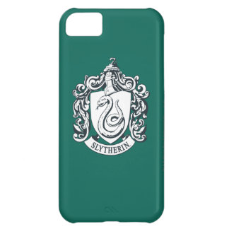 Harry Potter | Slytherin Crest - Black and White iPhone 5C Case
