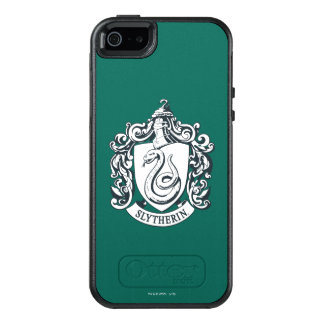 Harry Potter | Slytherin Crest - Black and White OtterBox iPhone 5/5s/SE Case