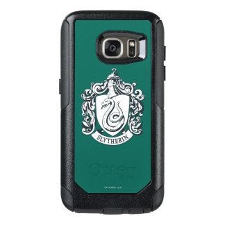 Harry Potter | Slytherin Crest - Black and White OtterBox Samsung Galaxy S7 Case