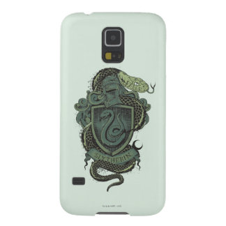 Harry Potter  | Slytherin Crest Galaxy S5 Cases