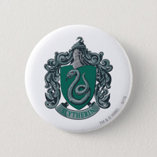 Harry Potter | Slytherin Crest Green 6 Cm Round Badge