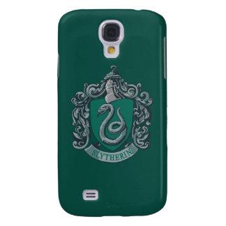 Harry Potter | Slytherin Crest Green Galaxy S4 Case