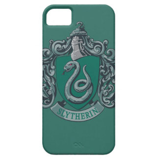 Harry Potter | Slytherin Crest Green iPhone 5 Cases