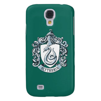 Harry Potter | Slytherin Crest - Ice Blue Galaxy S4 Case