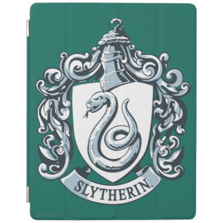 Harry Potter | Slytherin Crest - Ice Blue iPad Cover