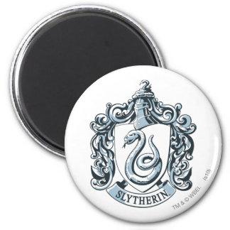 Harry Potter | Slytherin Crest - Ice Blue Magnet