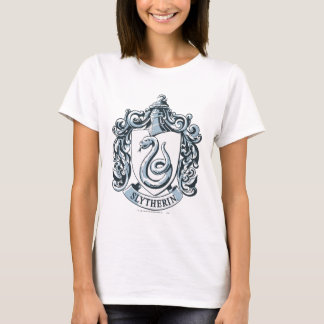 Harry Potter | Slytherin Crest - Ice Blue T-Shirt