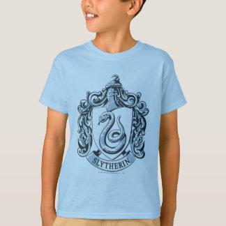 Harry Potter | Slytherin Crest - Ice Blue T-Shirt