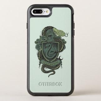 Harry Potter  | Slytherin Crest OtterBox Symmetry iPhone 8 Plus/7 Plus Case
