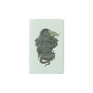 Harry Potter  | Slytherin Crest Pocket Moleskine Notebook