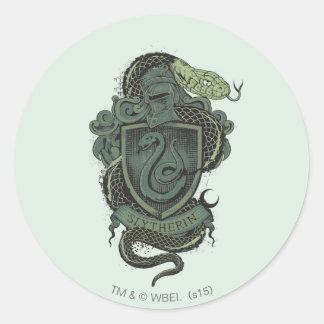 Harry Potter  | Slytherin Crest Round Sticker