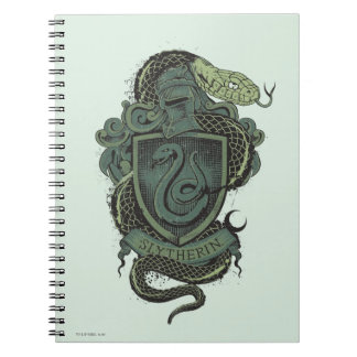 Harry Potter | Slytherin Crest Spiral Notebook