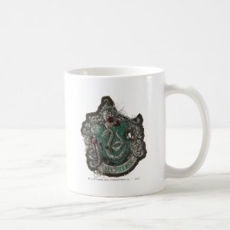Harry Potter | Slytherin Crest - Vintage Coffee Mug