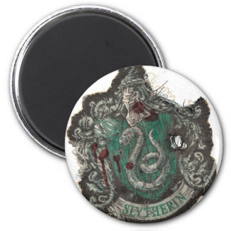 Harry Potter | Slytherin Crest - Vintage Magnet