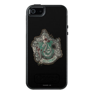 Harry Potter | Slytherin Crest - Vintage OtterBox iPhone 5/5s/SE Case