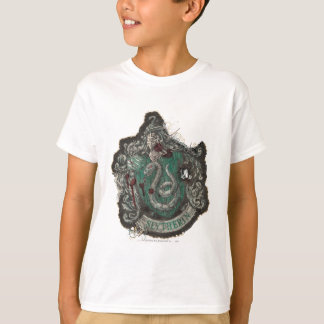 Harry Potter | Slytherin Crest - Vintage T-Shirt
