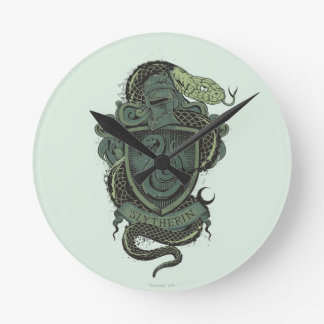 Harry Potter | Slytherin Crest Wallclock