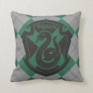 Harry Potter | Slytherin House Pride Crest Cushion