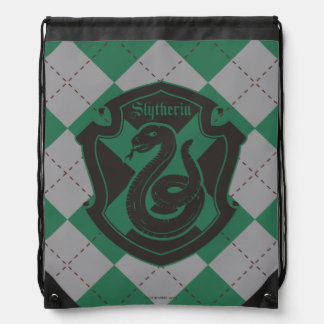 Harry Potter | Slytherin House Pride Crest Drawstring Bag