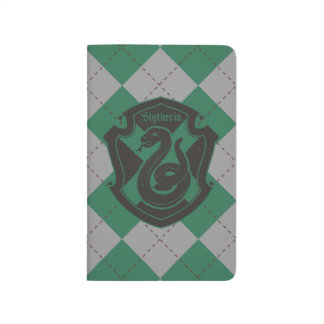 Harry Potter | Slytherin House Pride Crest Journal