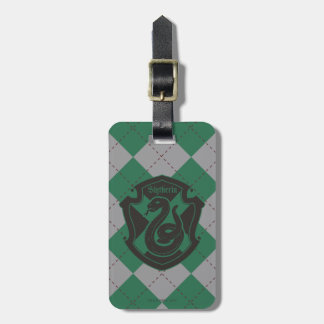 Harry Potter | Slytherin House Pride Crest Luggage Tag