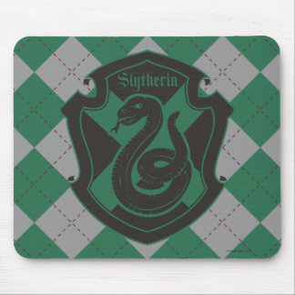Harry Potter | Slytherin House Pride Crest Mouse Mat