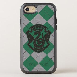 Harry Potter | Slytherin House Pride Crest OtterBox Symmetry iPhone 8/7 Case