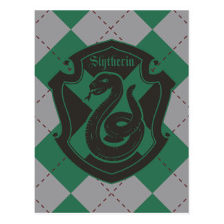 Harry Potter | Slytherin House Pride Crest Postcard
