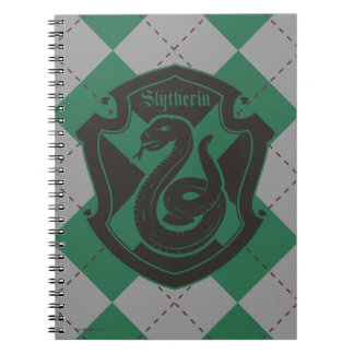Harry Potter | Slytherin House Pride Crest Spiral Notebook
