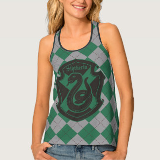 Harry Potter | Slytherin House Pride Crest Tank Top